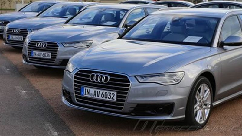 Audi A6 and S6 2015