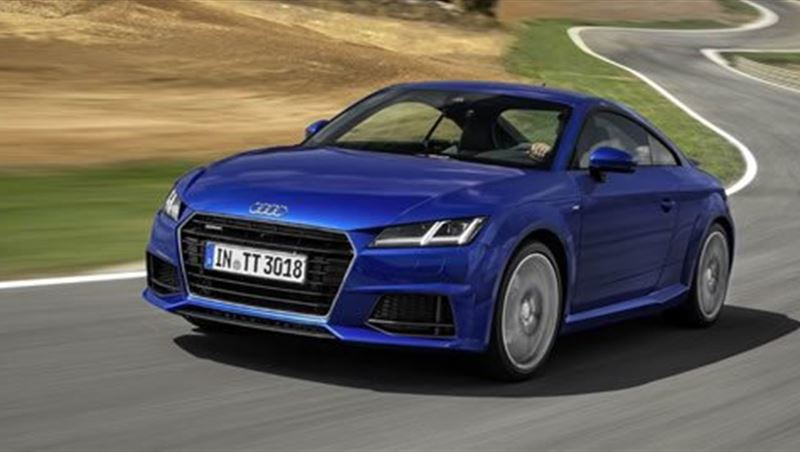Audi TT Coupe and Roadster 2015