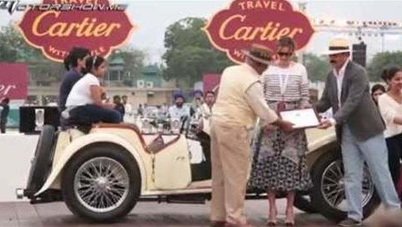 Indian Concours d'Elegance 2015