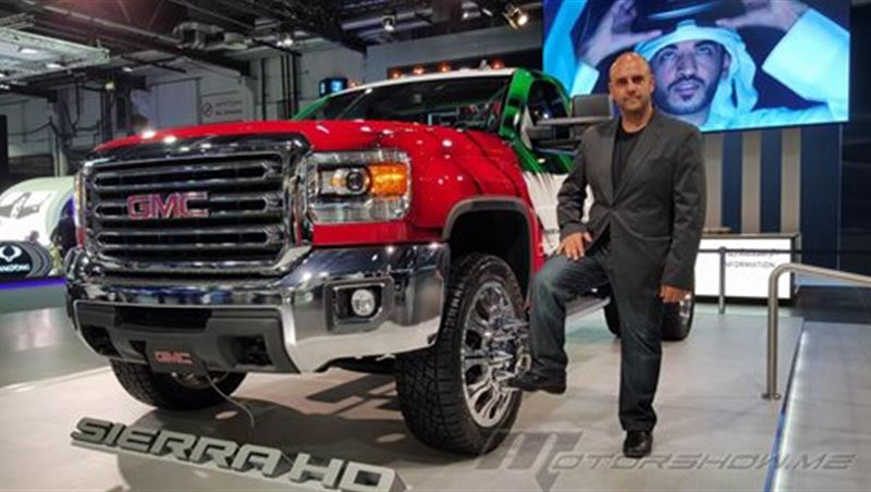 2016 GMC Sierra SLE HD at Dubai Motor Show 2015