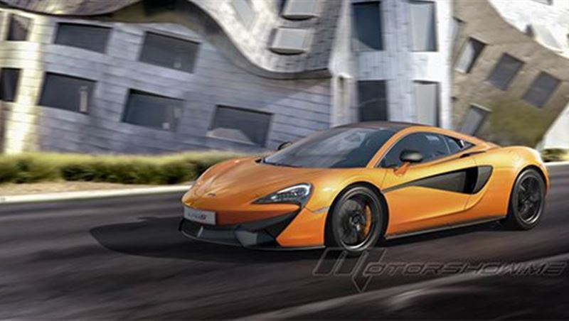 McLaren 540C Coupe and McLaren 570S 2016