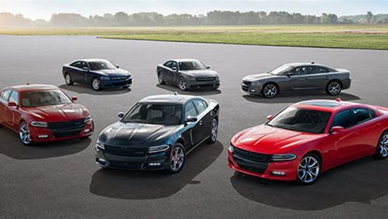 Dodge Charger and Challenger 2016 Lineup