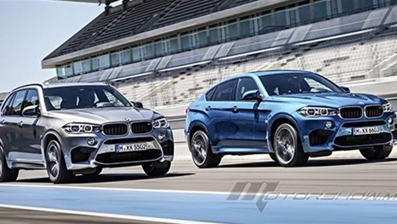 BMW X5M and BMW X6M 2016