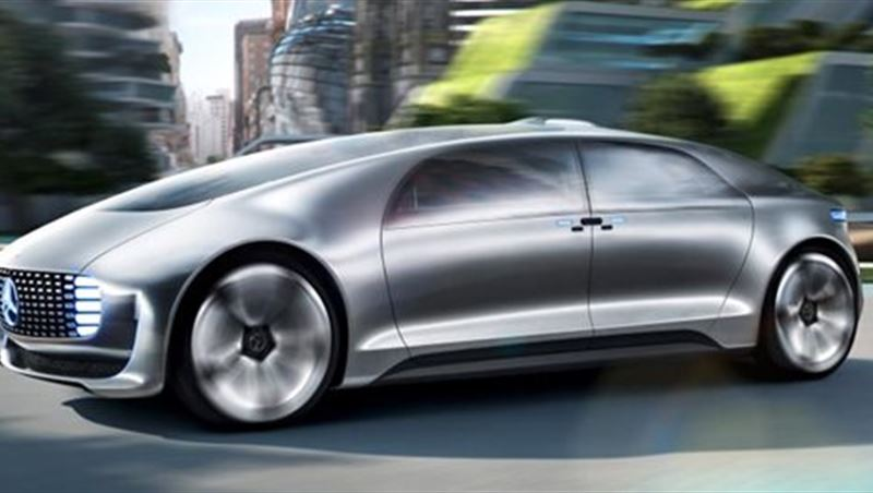 Mercedes F015 Luxury in Motion Concept 2016