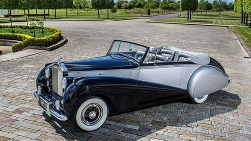Rolls-Royce Silver Dawn Drophead Coupe 1952
