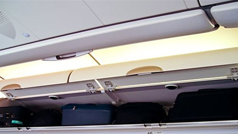 Use Your Own Space in the Luggage Compartment on the Plane