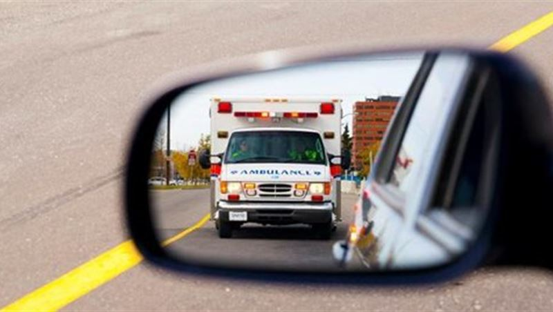 Free The Lane For Emergency Vehicles Such As Ambulances