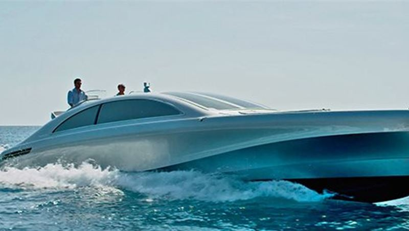 Mercedes-Benz Style Luxury Yacht Arrow460 Granturismo 2016
