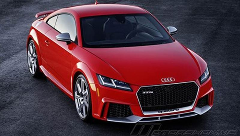 Audi TT RS Coupe and Roadster 2017