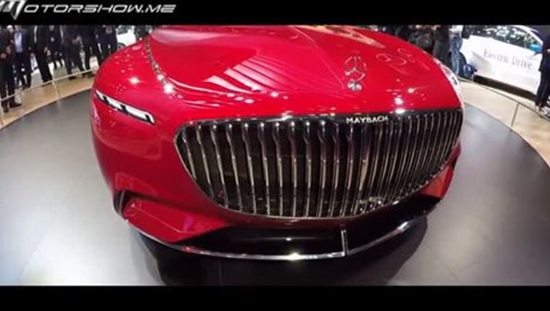 Vision Mercedes-Maybach 6 2017