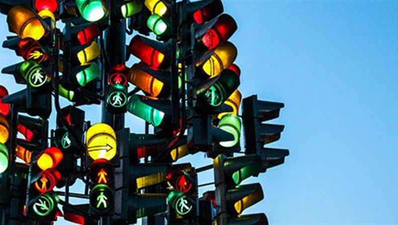 Twisted Traffic Light