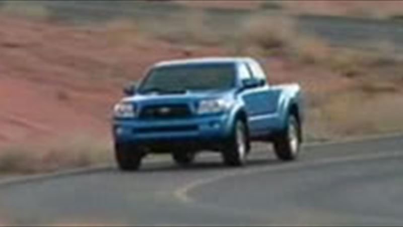 Truck: Toyota Tacoma Pick-up 2009