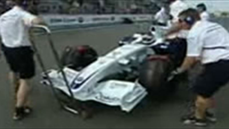 BMW Sauber F1 on Nordshleife with Nick Heidfeld 2009