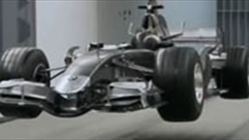 BMW Sauber F1 Wind Tunnel in Hinwill