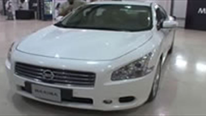 Nissan Maxima 2010 including interviews with Monal