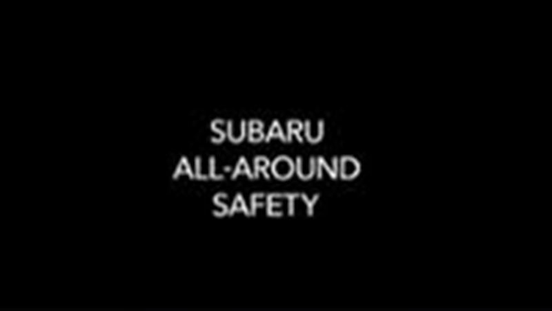 Subaru Safety Feature 2010