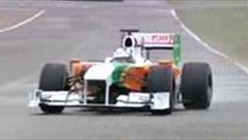 Force India 2010 Team and Tests