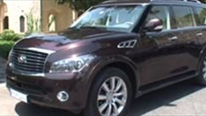 Infiniti QX 2011 including interview with Gilles Normand (Nissan CVP)
