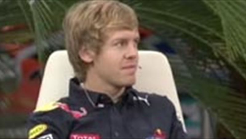 Sebastian Vettel returns home as 2010 F1 World Champion