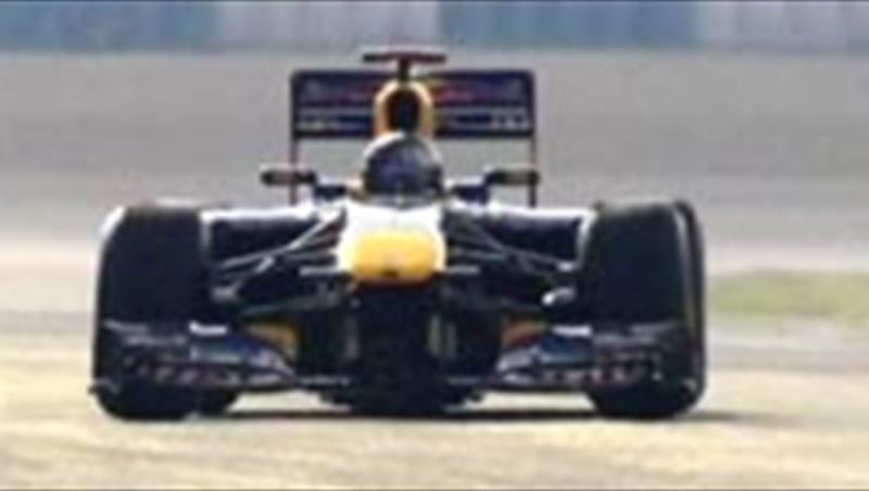 Red Bull Racing 2011 RB4 F1 Roll-out