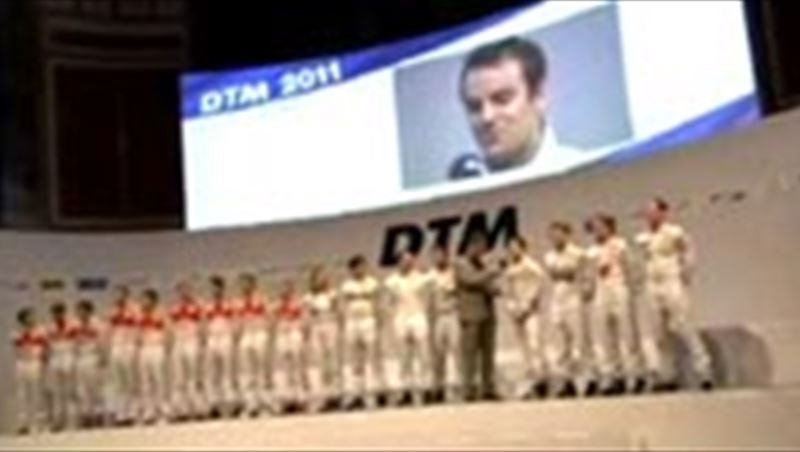 2011 DTM Presentation and Roll-out