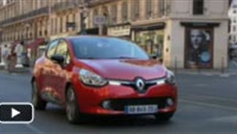 Renault Clio IV 2013 and the Renault plant in Flins