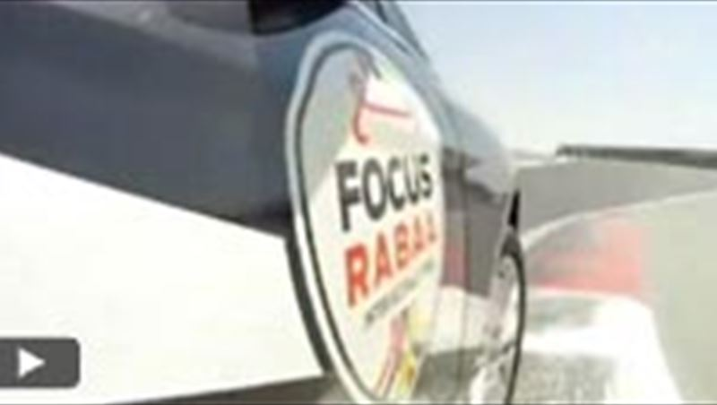 Ford Focus Raba'a Rally 2012