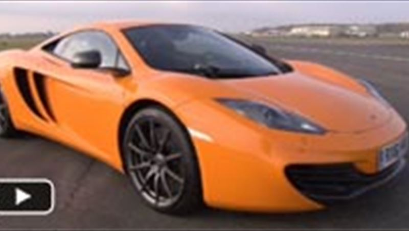 McLaren MP4-12C test drive and Production Center visit