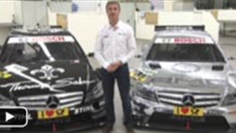 Comparison between 2011 and 2012 Mercedes DTM cars