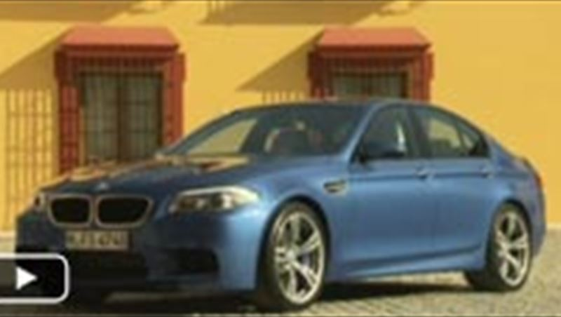 BMW M5 2012 as tested by MotorShow