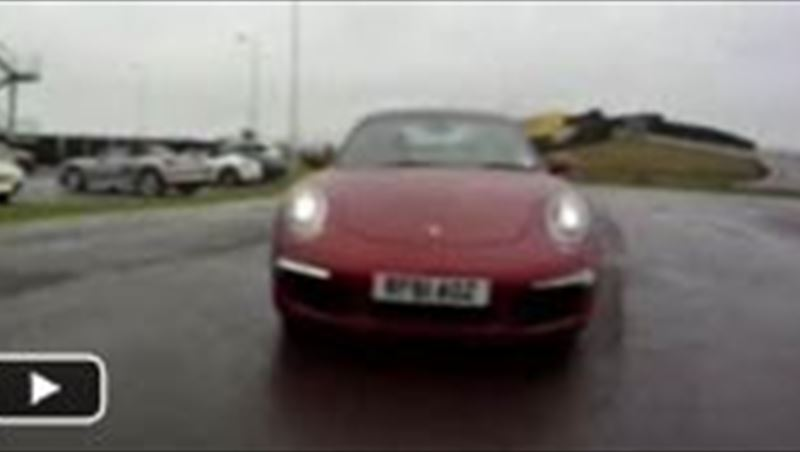Porsche Experience Center in Silverstone 2012 including test drives