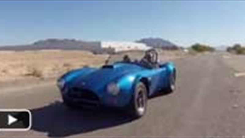 Cobra FIA Test Drive 2012