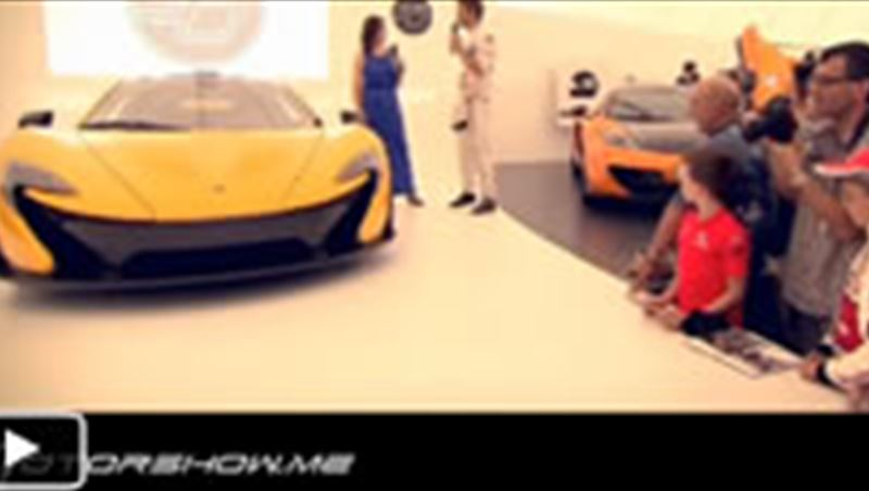 McLaren P1 Extreme Cold and Heat Test 2013