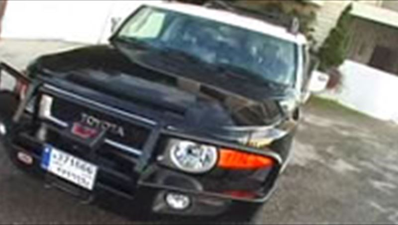 Toyota FJ Cruiser 2009 tuned for heavy off-road