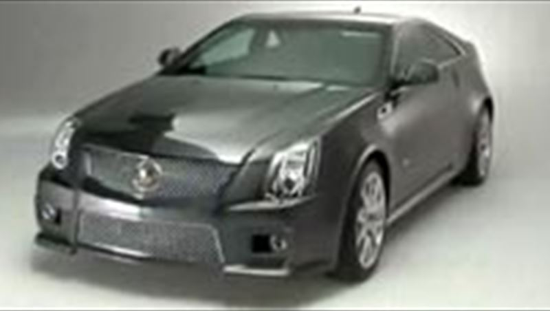 Cadillac CTS Coupe and V Coupe 2011 including interview with Fadi Ghosn (Chief Marketing Officer GM-ME)