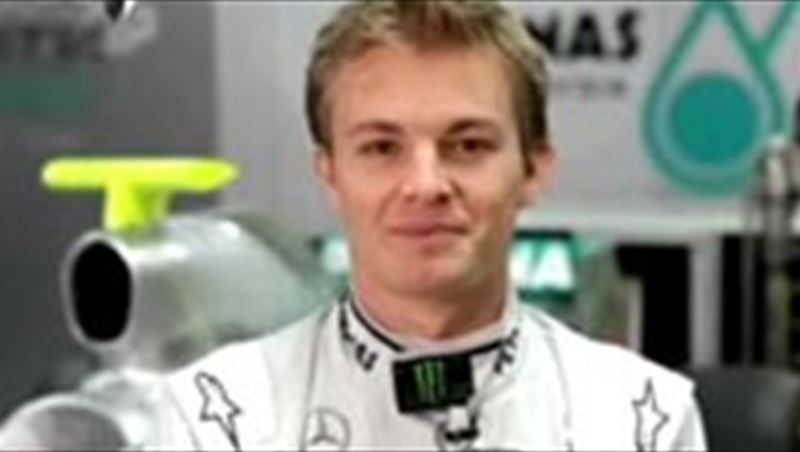 Nico Rosberg: Don't drink and drive